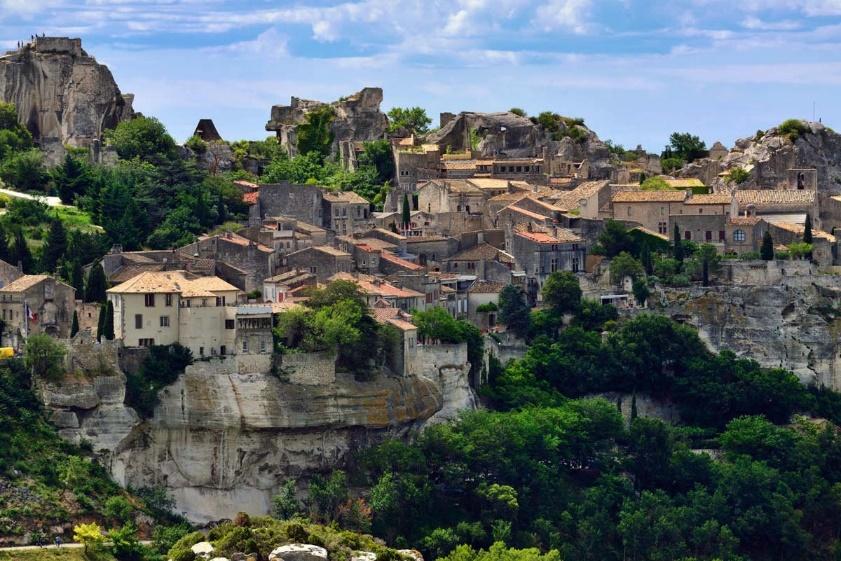 Les Alpilles, le pays des santons